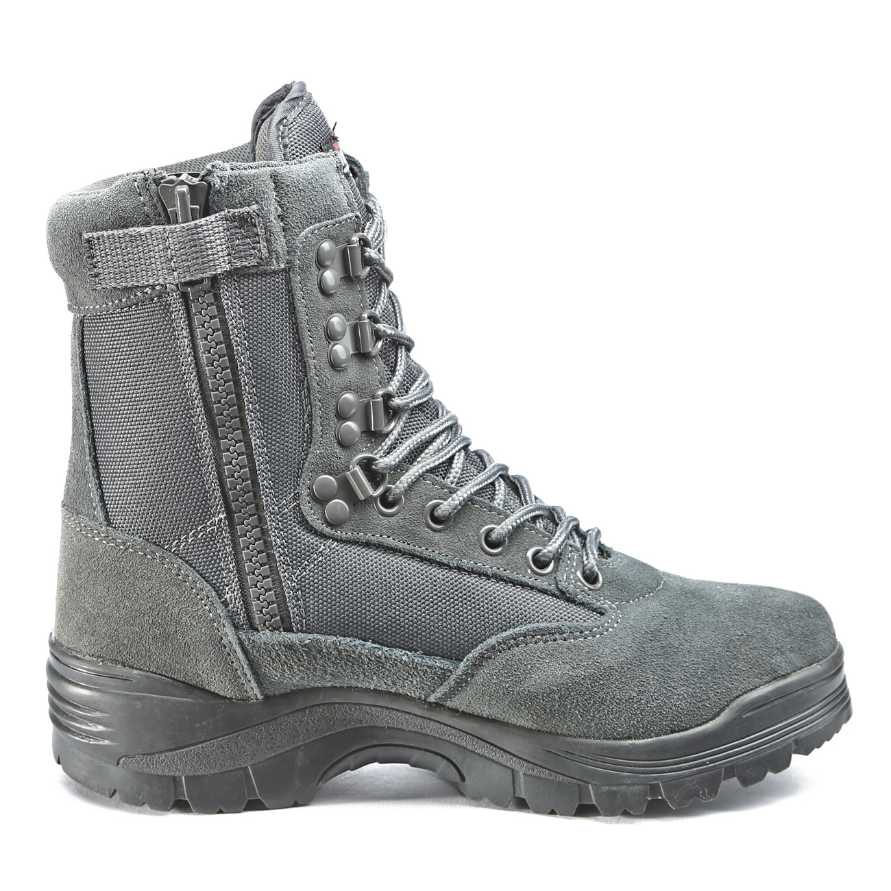 Mil-Tec Stiefel Tactical Boots YKK-Zipper urban grey 4