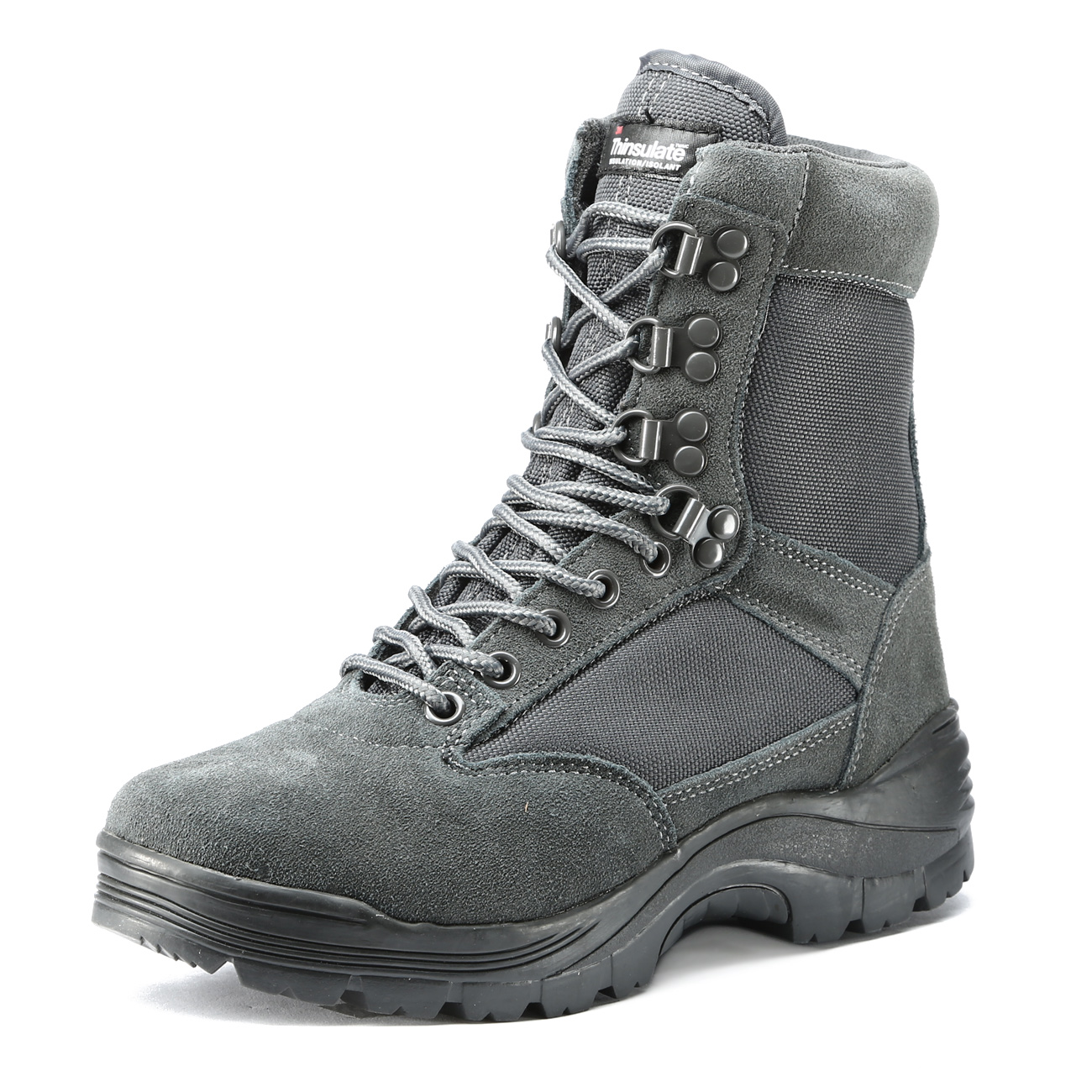 Mil-Tec Stiefel Tactical Boots YKK-Zipper urban grey 6