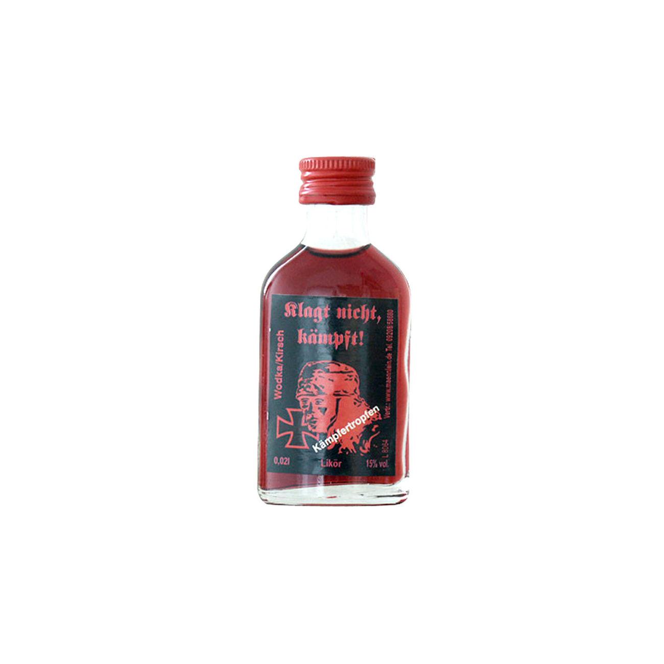 Kämpfertropfen Wodka/Kirsch Likör, 2cl günstig kaufen - Kotte & Zeller