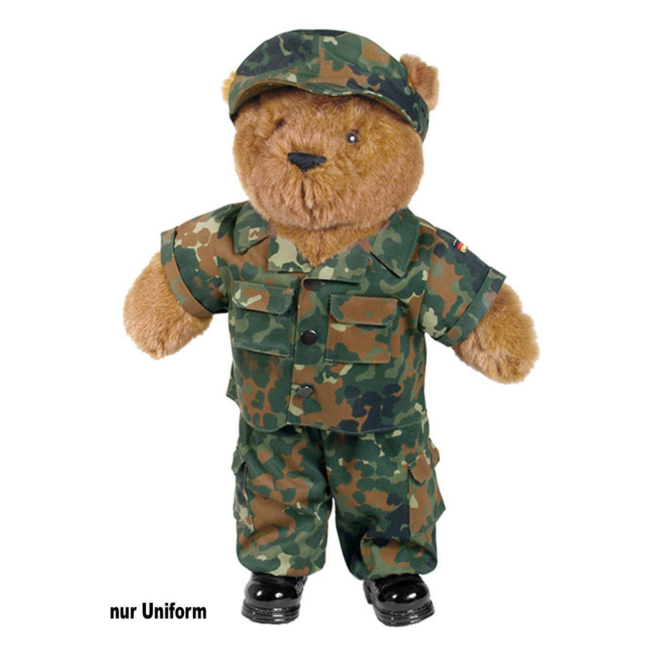 Teddyanzug groß woodland Bärenbekleidung & Accessoires