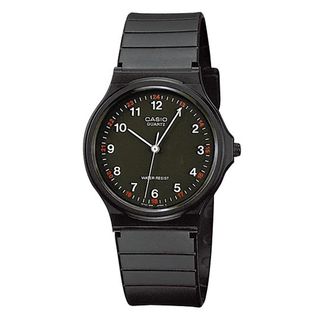 Casio Collection MQ24 Armbanduhr, schwarz 0
