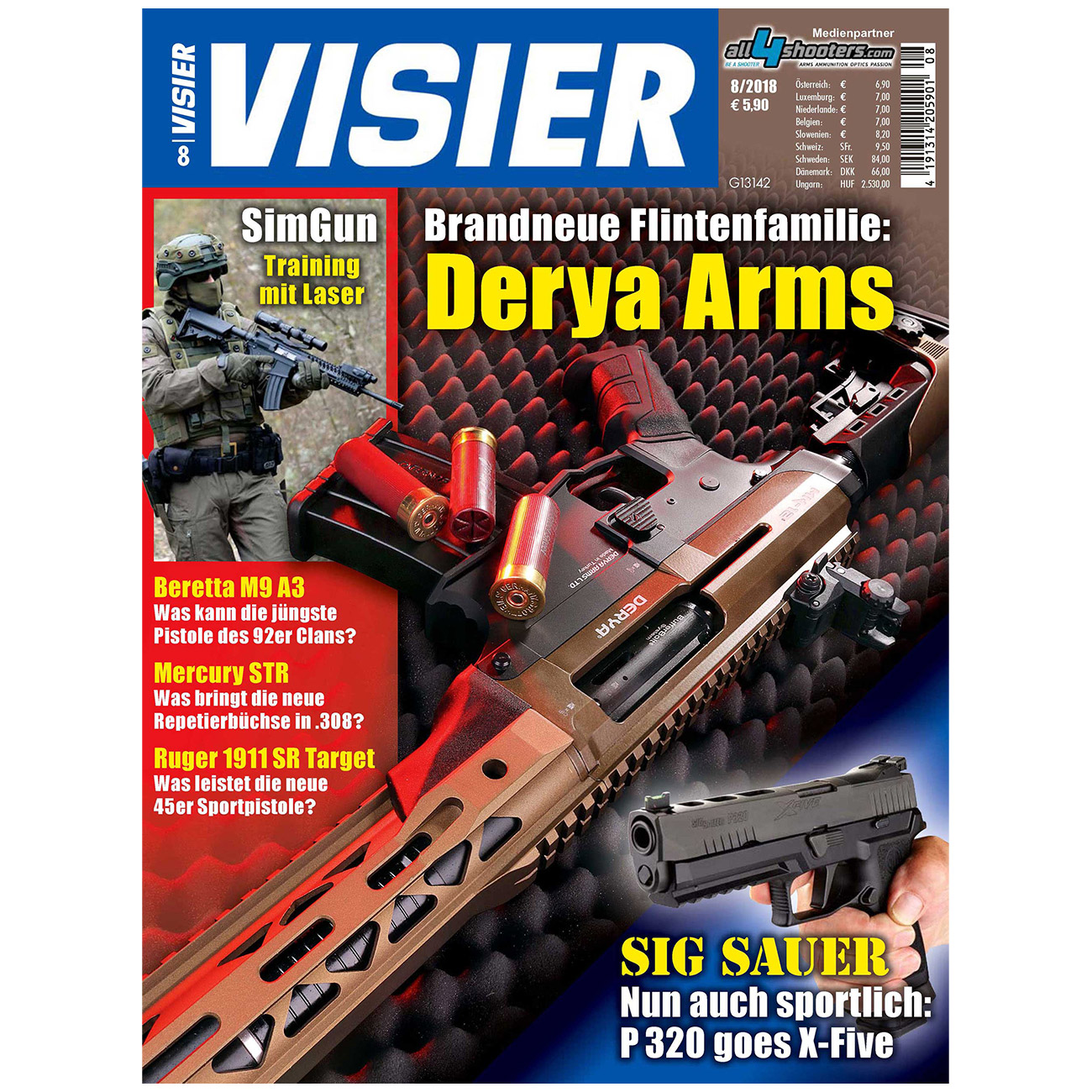 Visier - Das internationale Waffenmagazin 08/2018 0