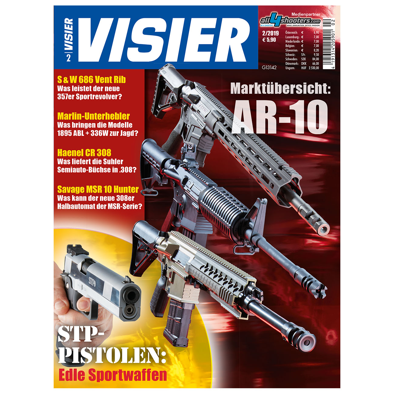 Visier - Das internationale Waffenmagazin 02/2019 0