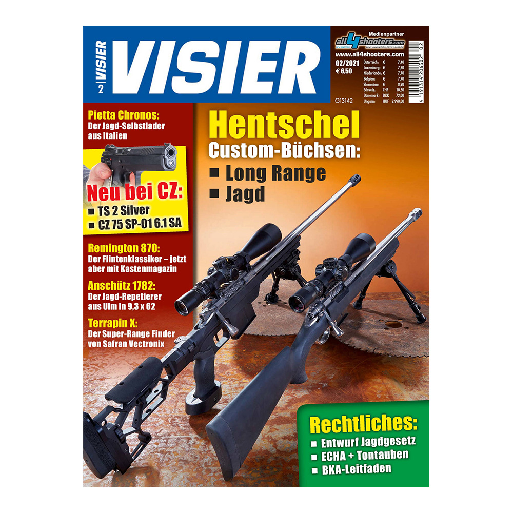 Visier - Das internationale Waffenmagazin 02/2021 0