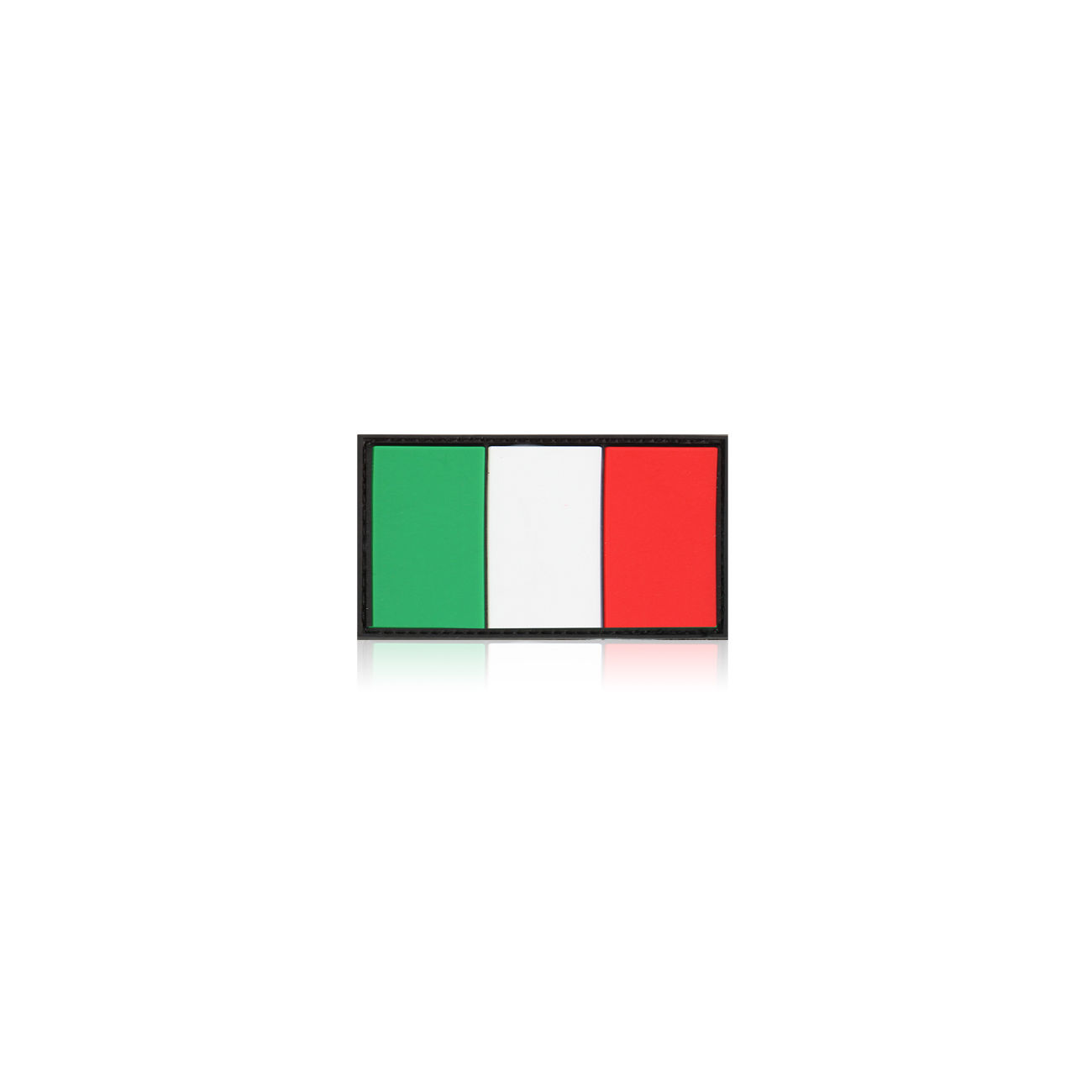 3D Rubber Patch Flagge Italien 0