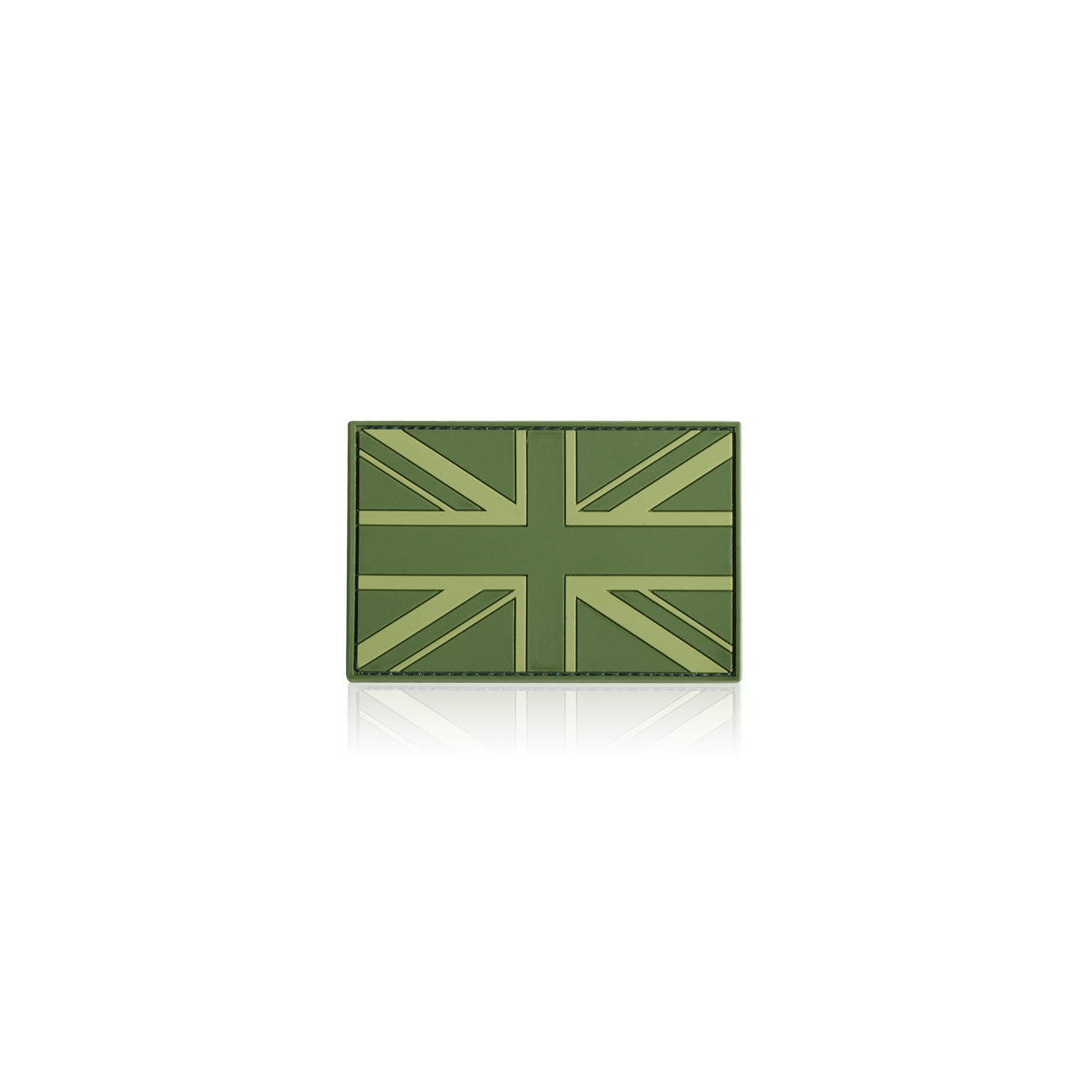 3D Rubber Patch Flagge UK England forest 0