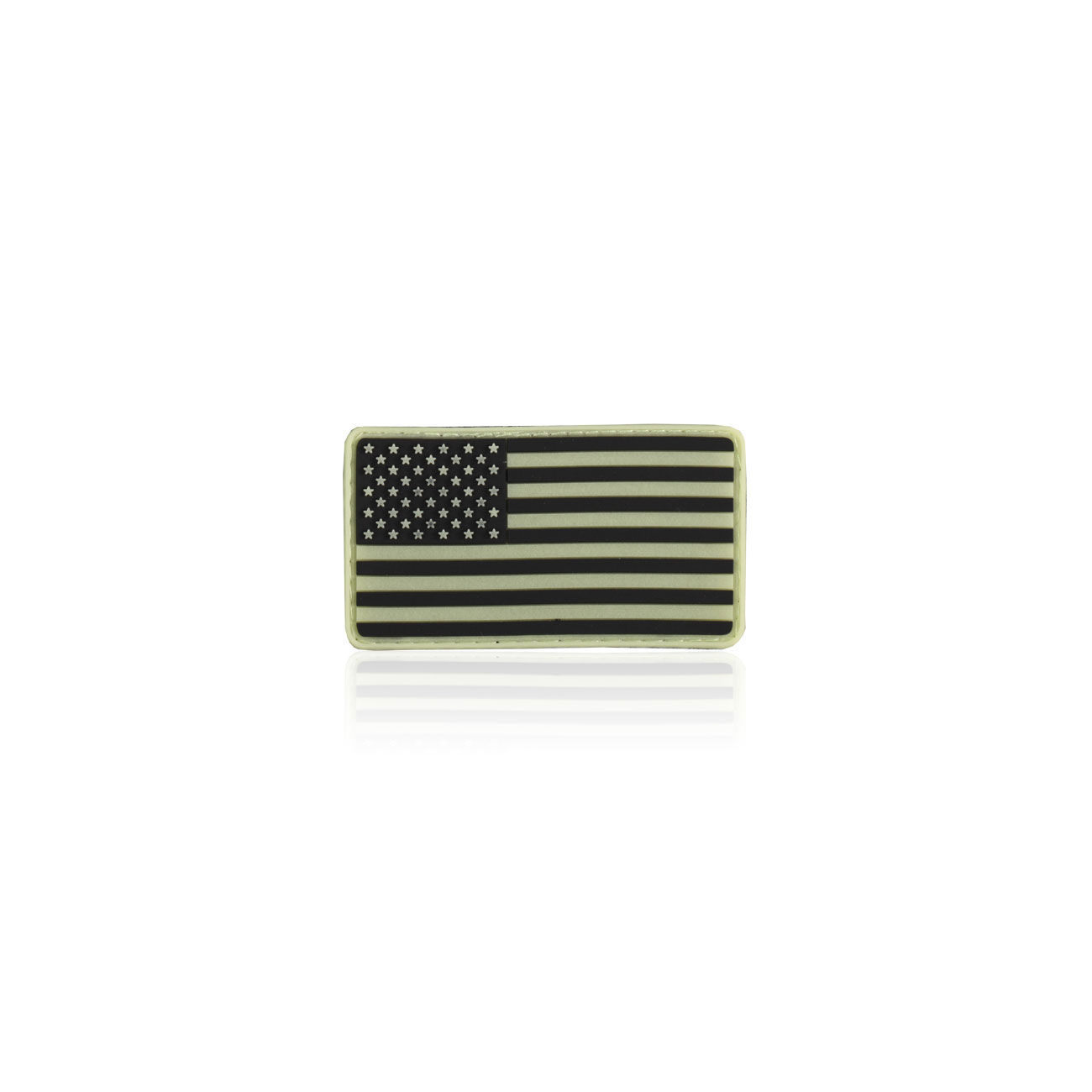 3D Rubber Patch USA nachleutend 0