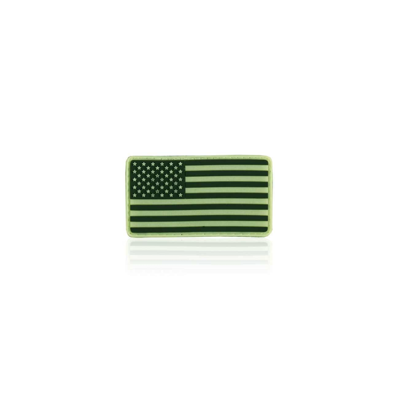 3D Rubber Patch USA nachleutend 1