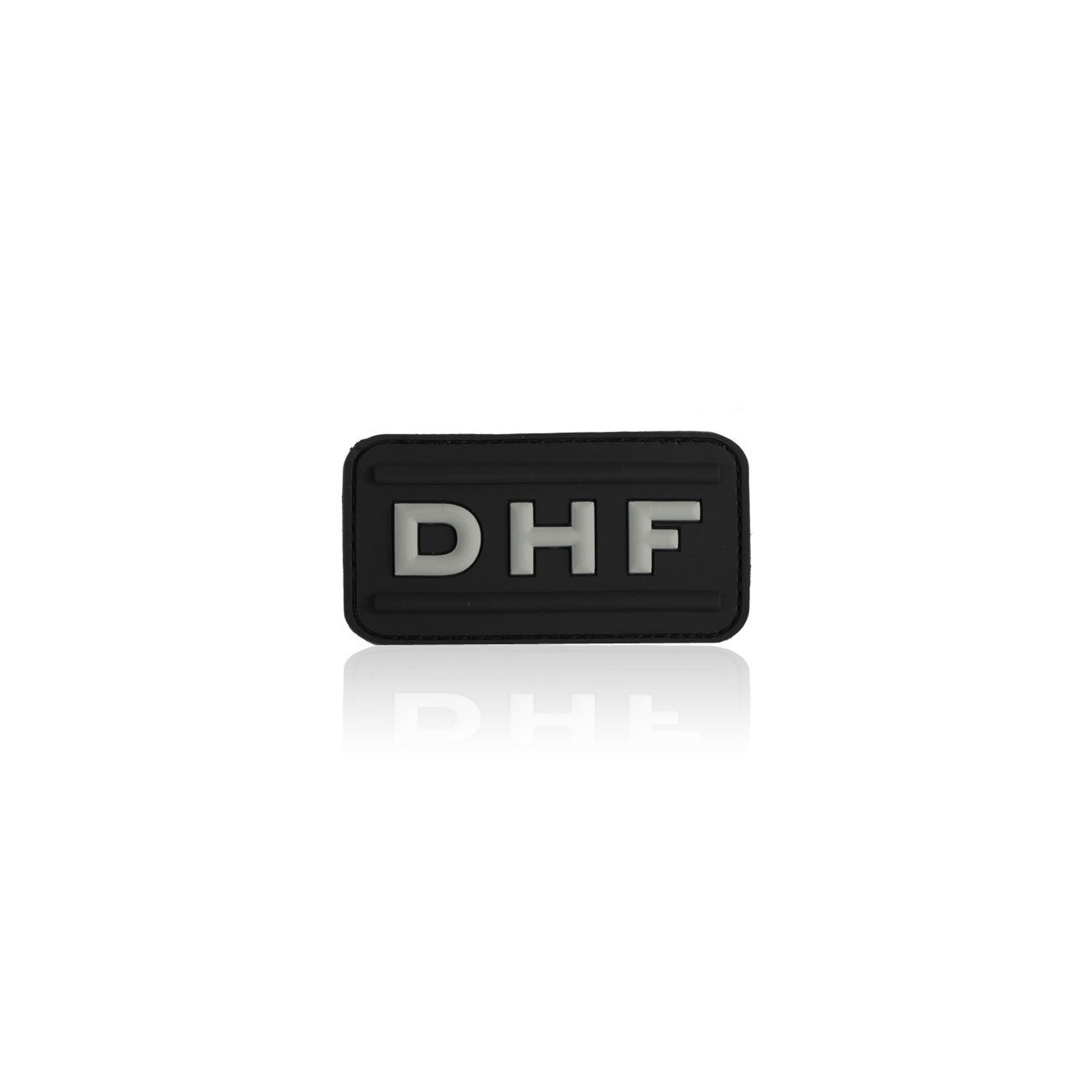 3D Rubber Patch DHF swat 0