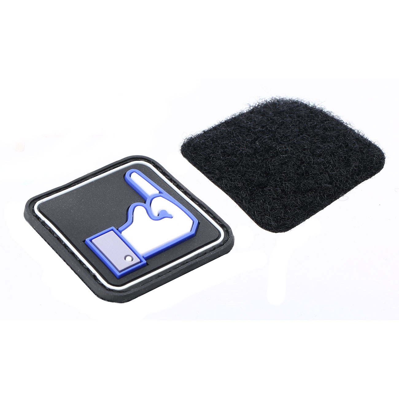 3D Rubber Patch Dislike 2