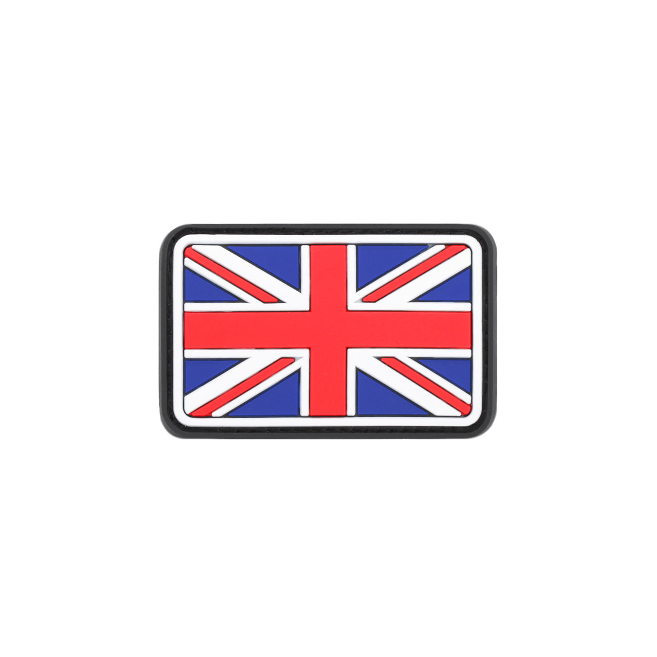 3D Rubber Patch United Kingdom vollfarbig 0