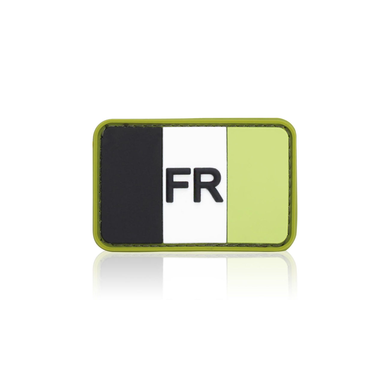 3D Rubber Patch Flagge Frankreich forest 0