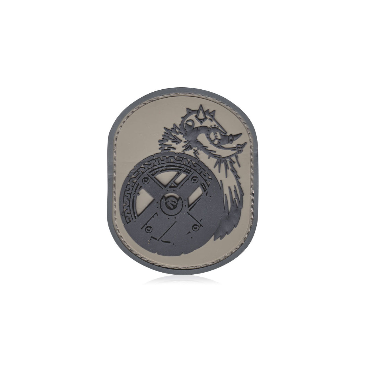 3D Rubber Patch Berserker acu 0