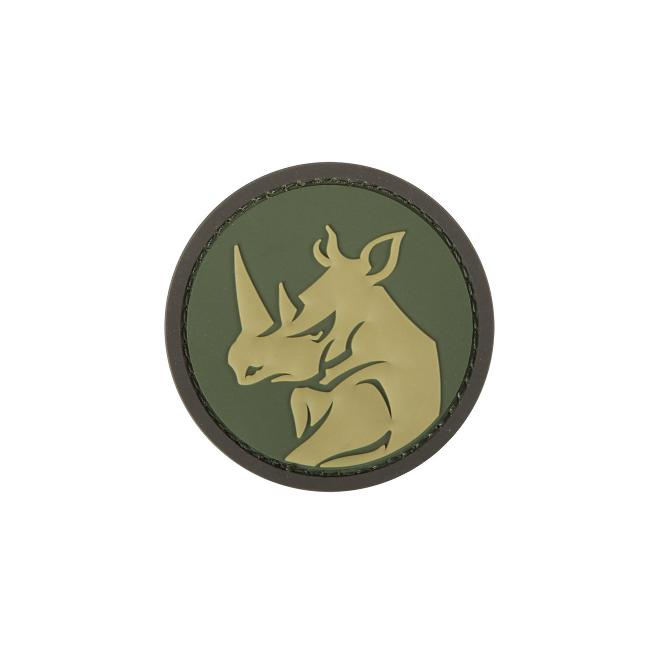 Mil-Spec Monkey 3D Rubber Patch Rhino Head Multicam 0