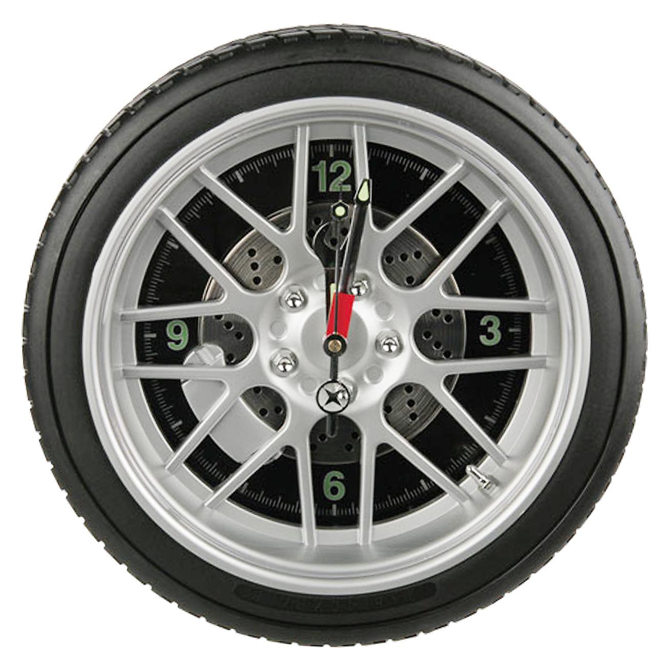 ootb led wanduhr reifen wheel clock 35 cm g nstig kaufen kotte zeller. Black Bedroom Furniture Sets. Home Design Ideas