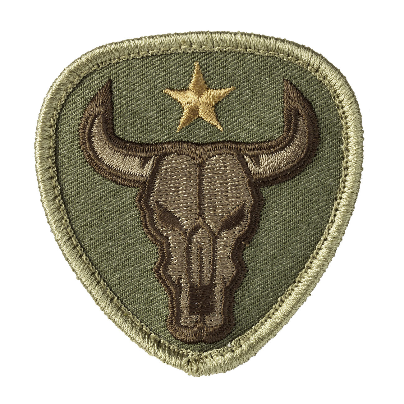 Mil-Spec Monkey Patch Bull Skull multicam 0
