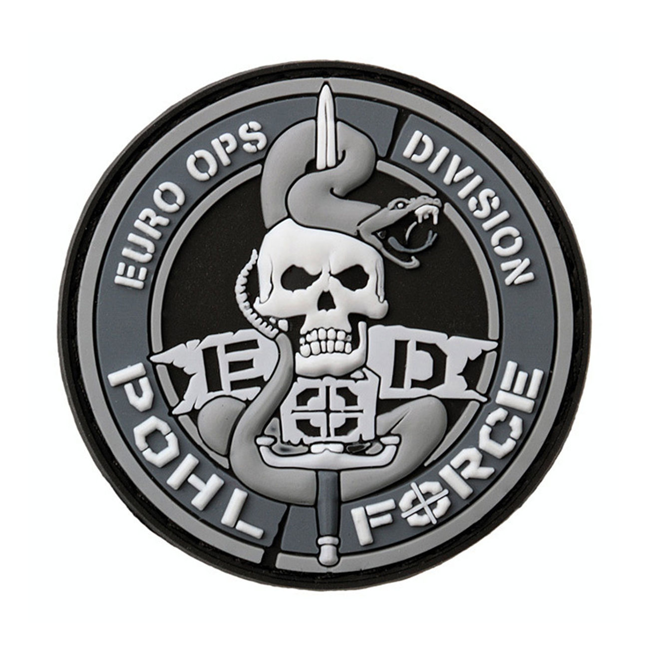 Pohl Force 3D Rubber Patch Euro-Ops-Division Gen1 0
