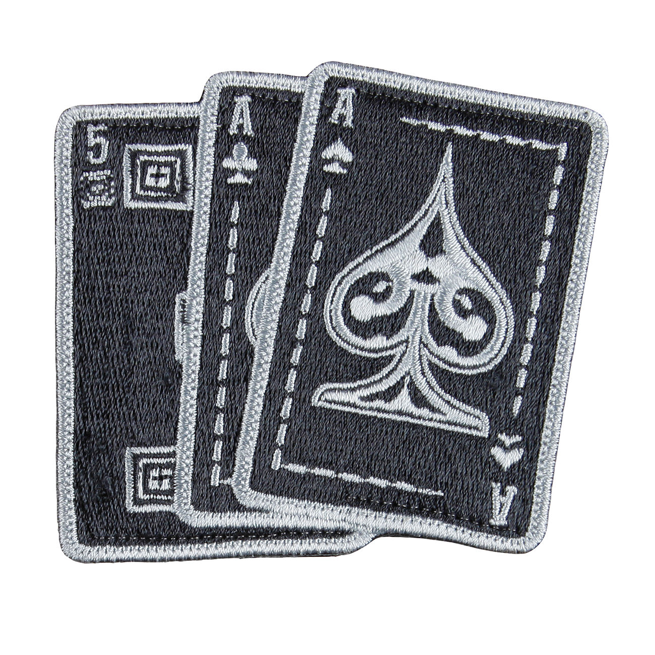 5.11 Patch Ace In Hand schwarz 0