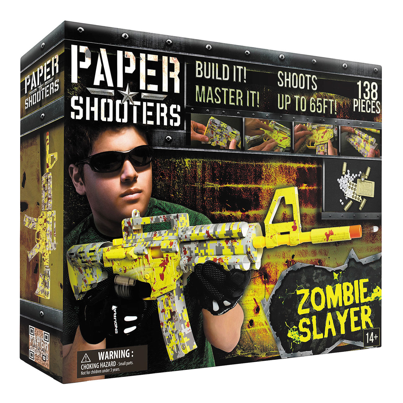Paper Shooters Tactician Zombie Slayer Bausatz 138 tlg. 0