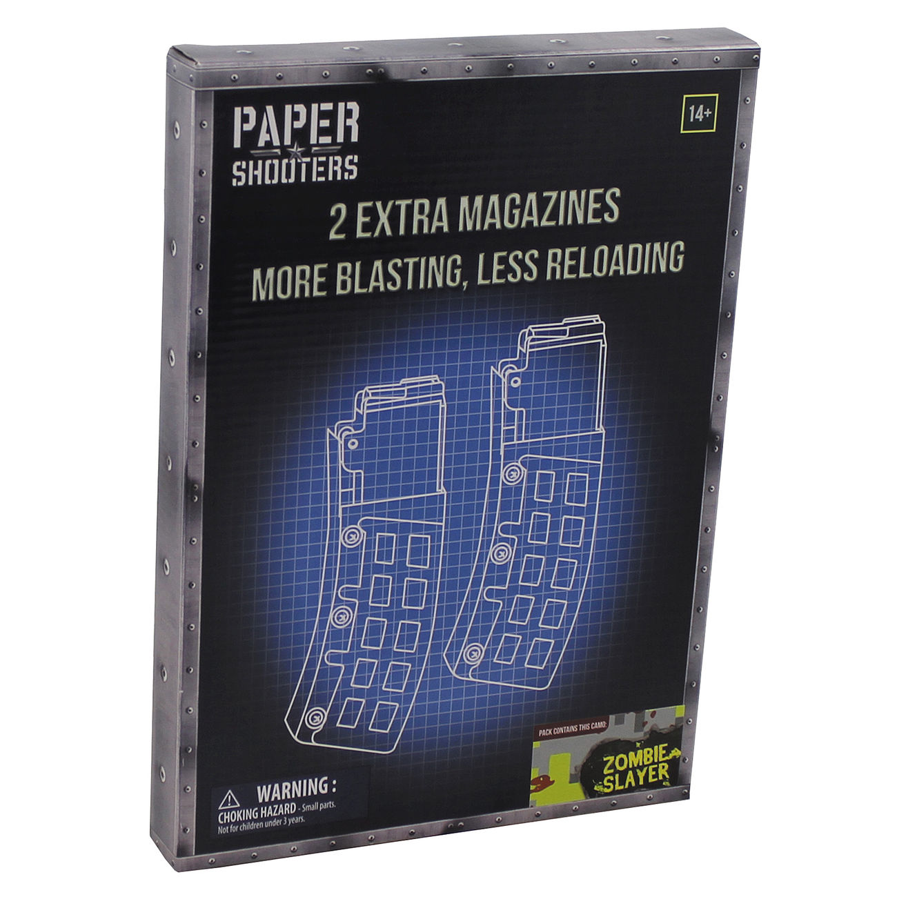 Paper Shooters Bausatz Magazin Zombie Slayer 2er Pack 0