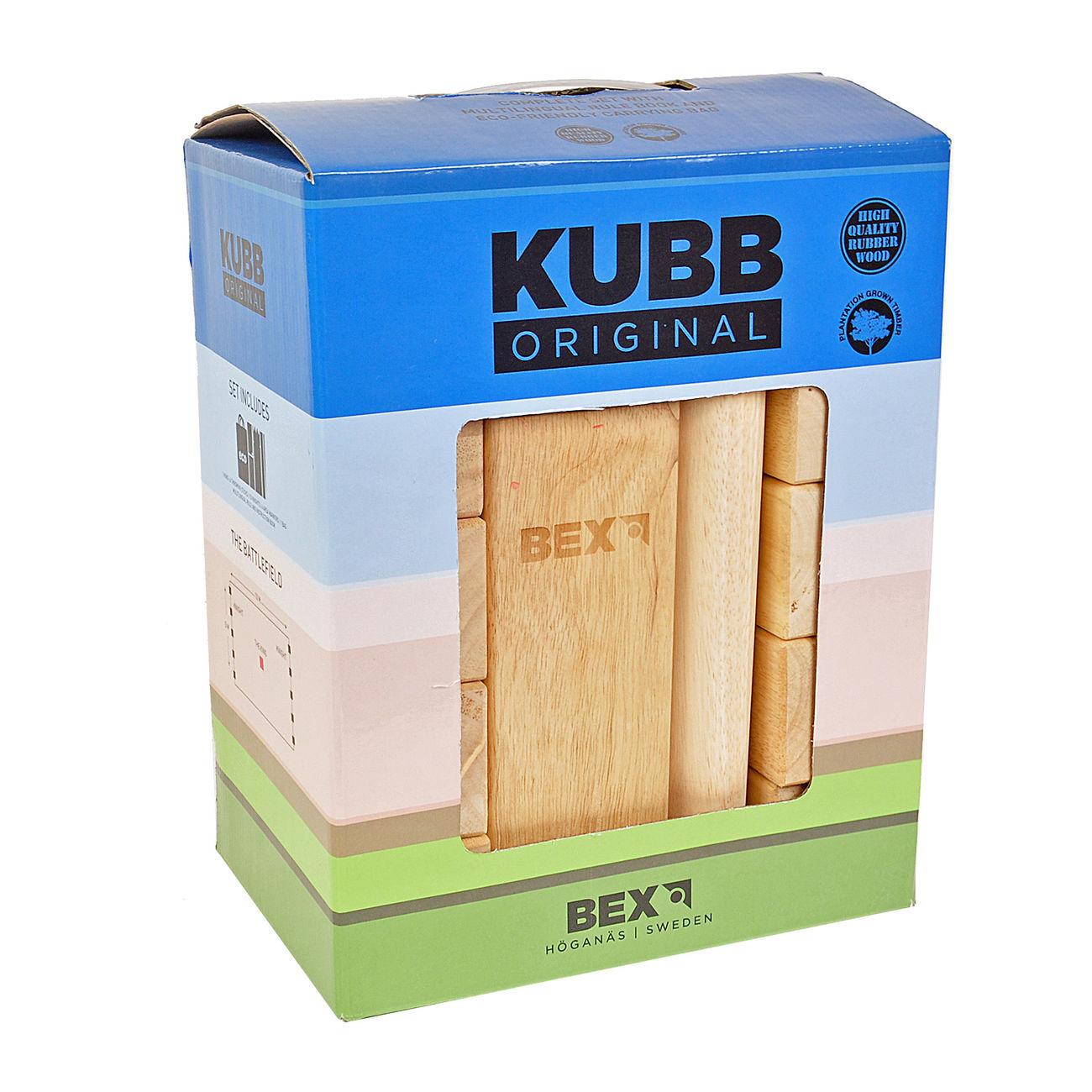 bex original kubb outdoorspiel g nstig kaufen kotte zeller. Black Bedroom Furniture Sets. Home Design Ideas
