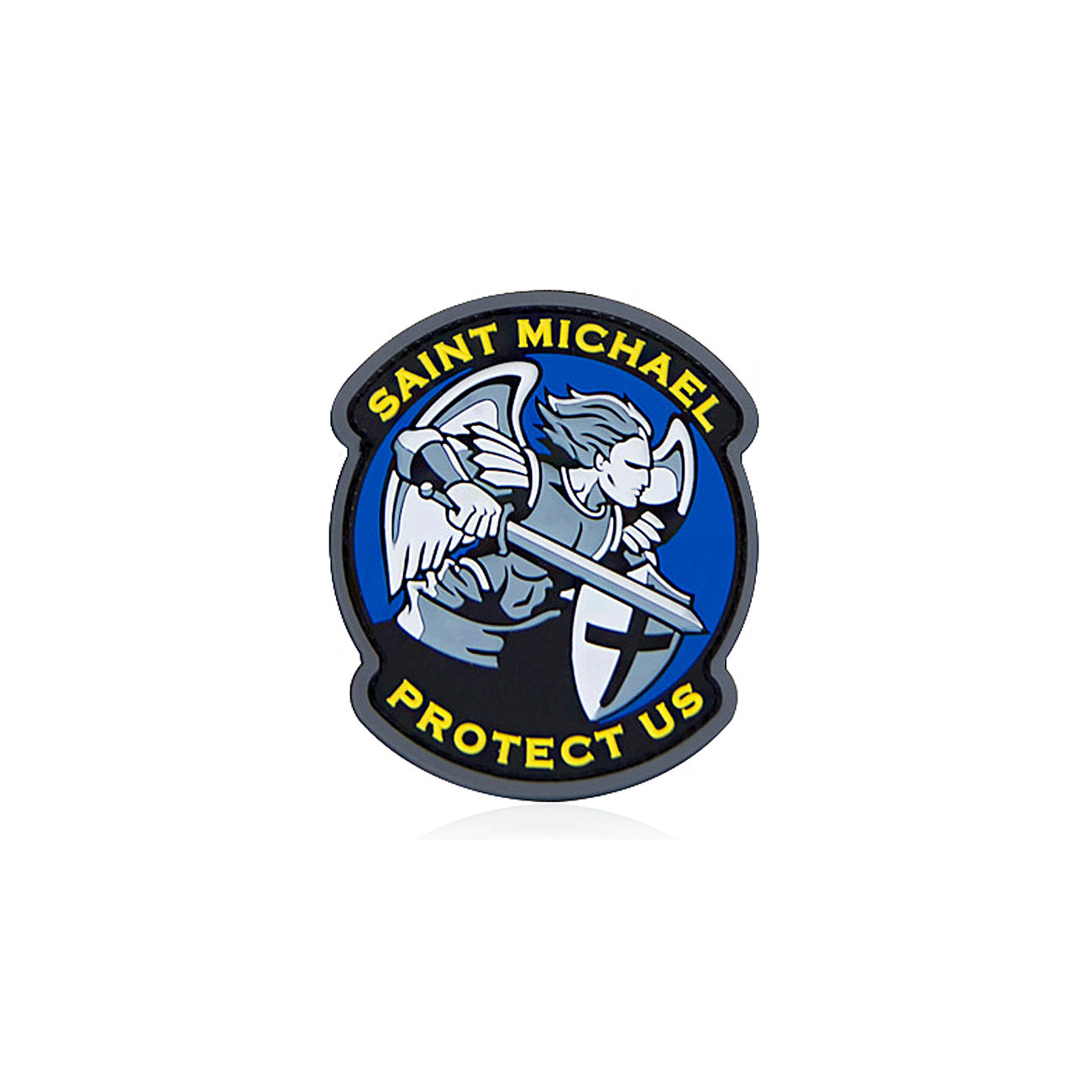 Mil-Spec Monkey 3D Rubber Patch Saint Michael Modern PVC fullcolor 0