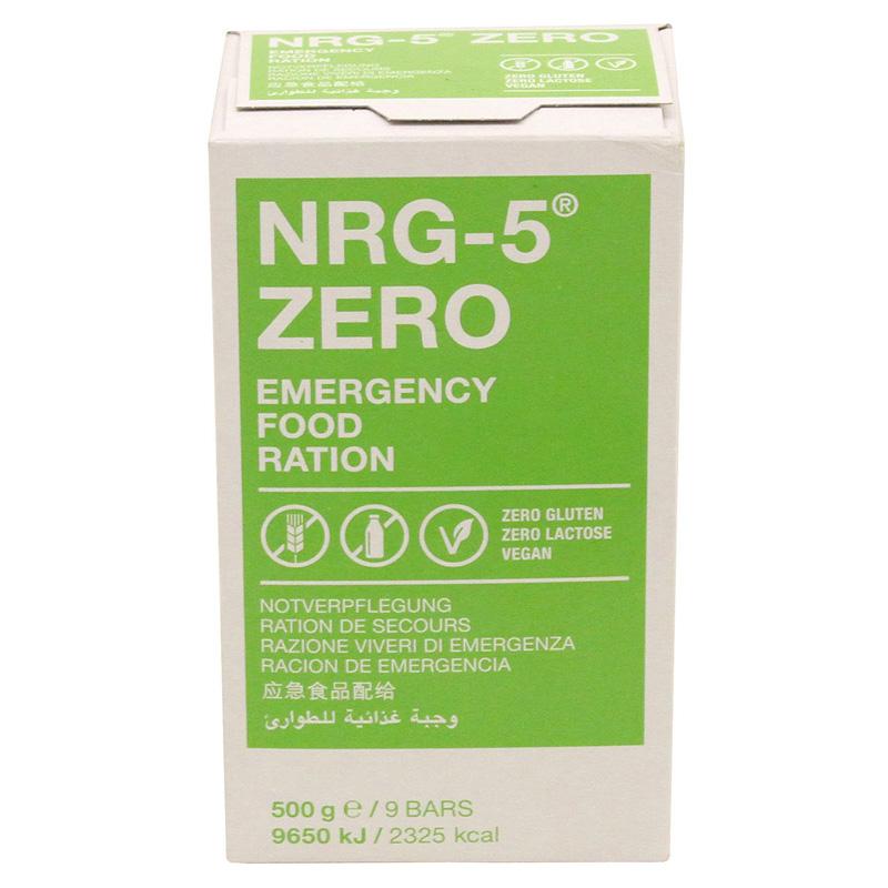 NRG-5 Notverpflegung 5 Packungen je 500 g Langzeitnahrung Notration 2,5 kg