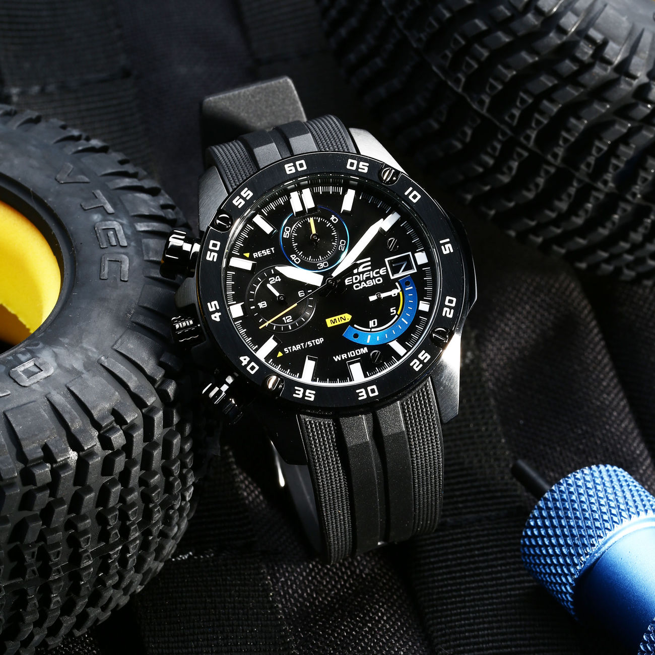 Casio Edifice Armbanduhr EFR-558BP-1AVUEF 1