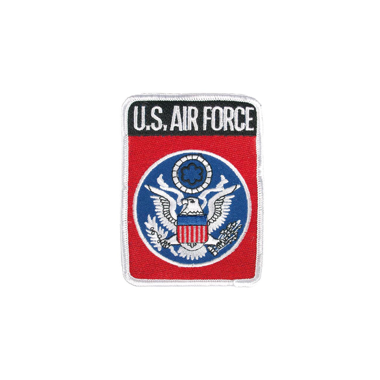 Textil Patch US Air Force Mit Bugelflache