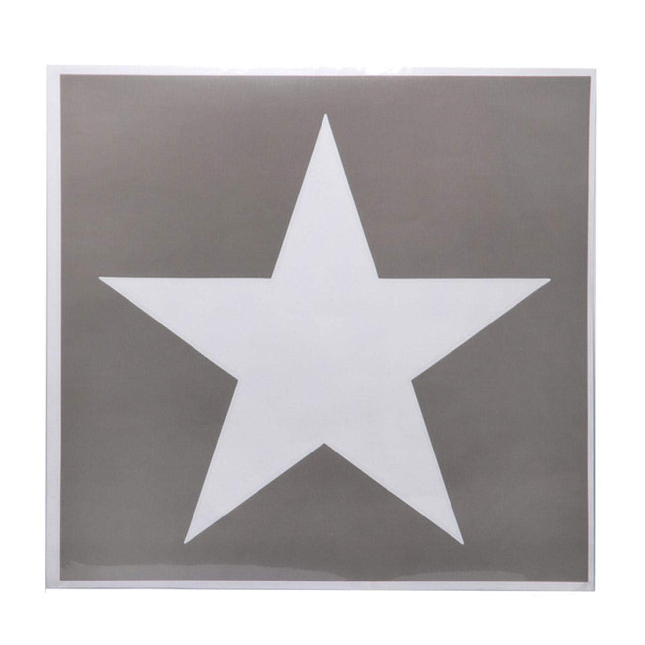 Aufkleber Schablone Sticker U.S. Stern günstig kaufen - Kotte & Zeller