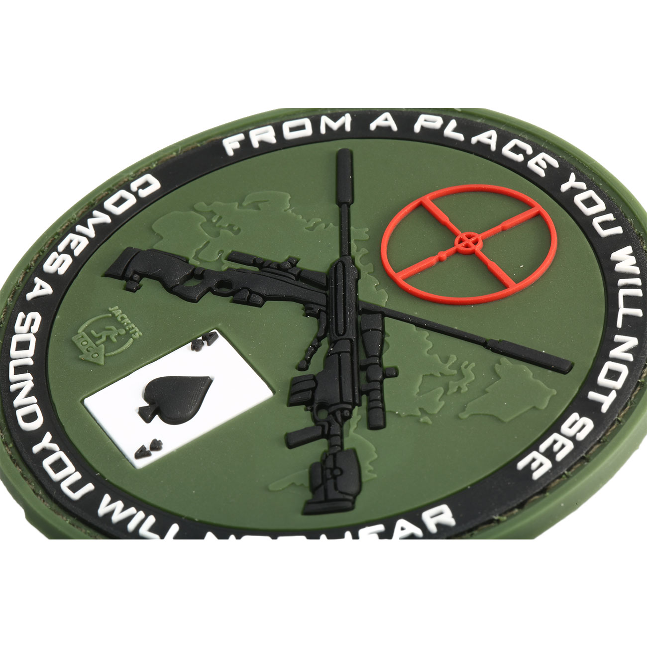 JTG 3D Rubber Patch Sniper forest 1