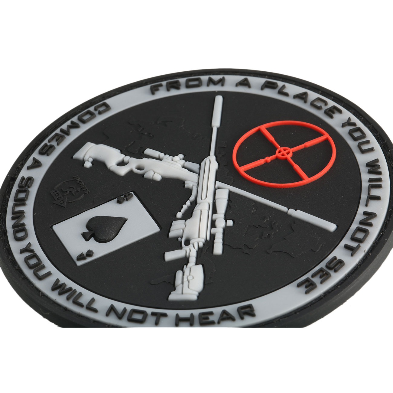 JTG 3D Rubber Patch Sniper swat 1