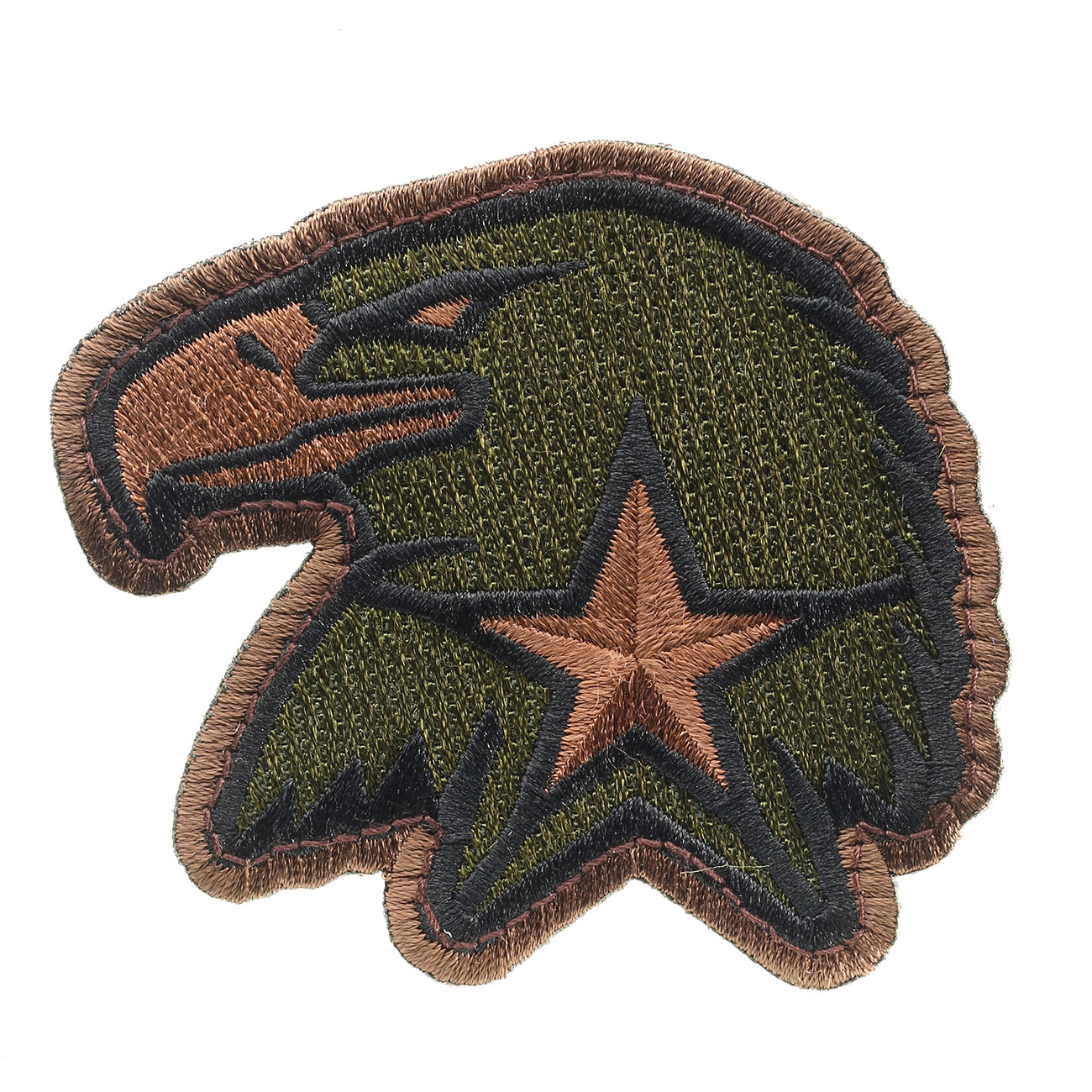 Mil-Spec Monkey Patch Eagle Star forest 0