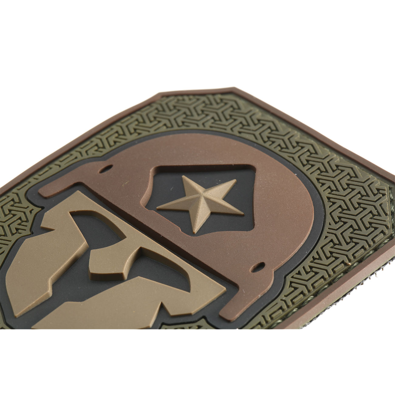 Mil-Spec Monkey 3D Rubber Patch Modern Spartan forest 1