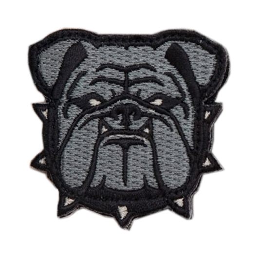 Mil-Spec Monkey Patch Bulldog Head acu 0