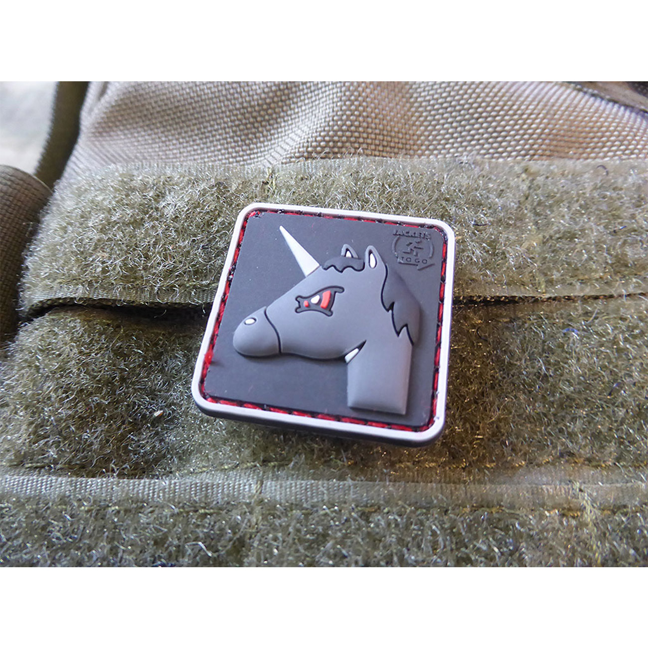 JTG 3D Rubber Patch Angry Unicorn 2