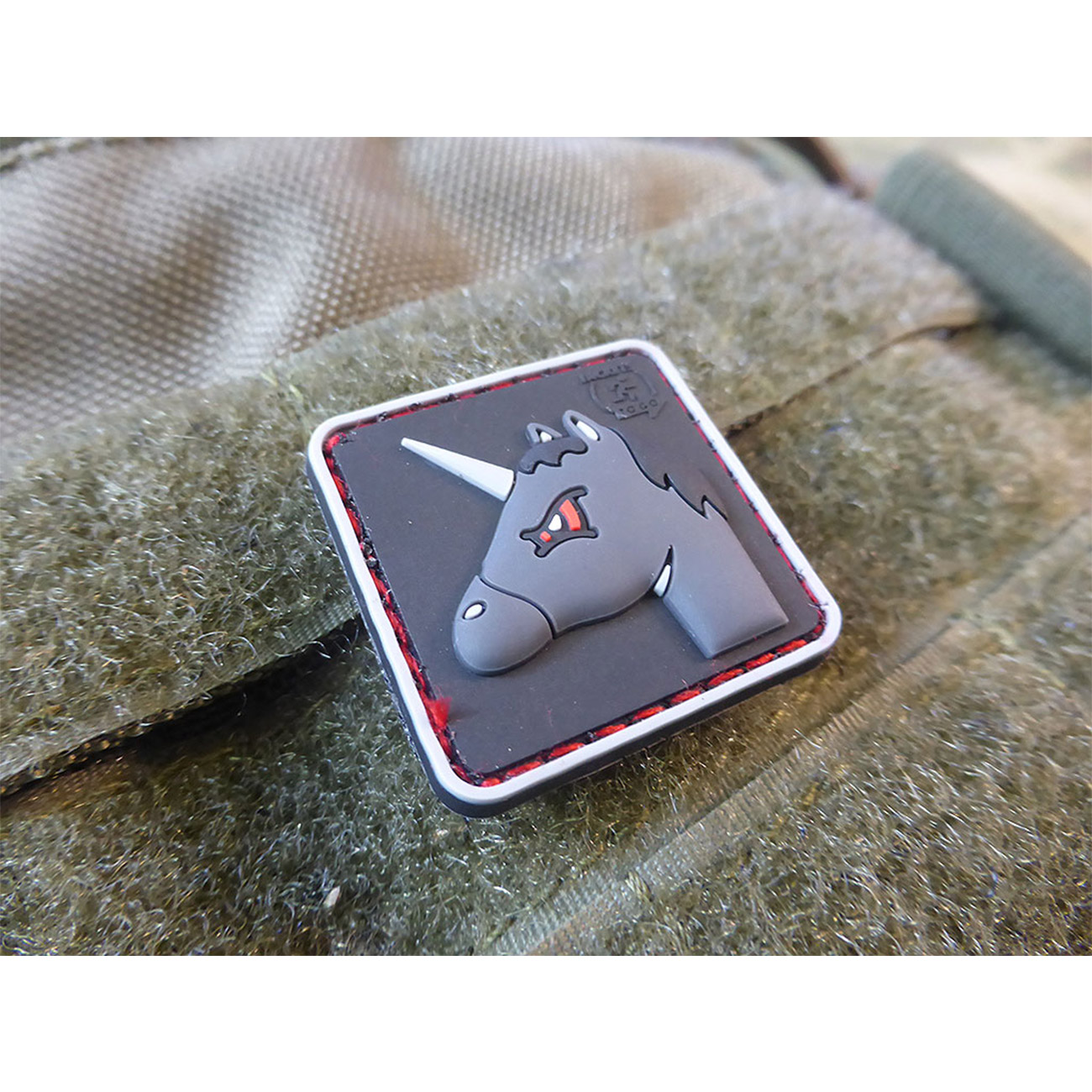 JTG 3D Rubber Patch Angry Unicorn 4