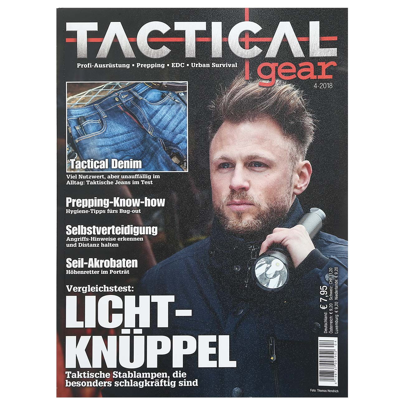 Tactical Gear Magazin Ausgabe 04/2018 0