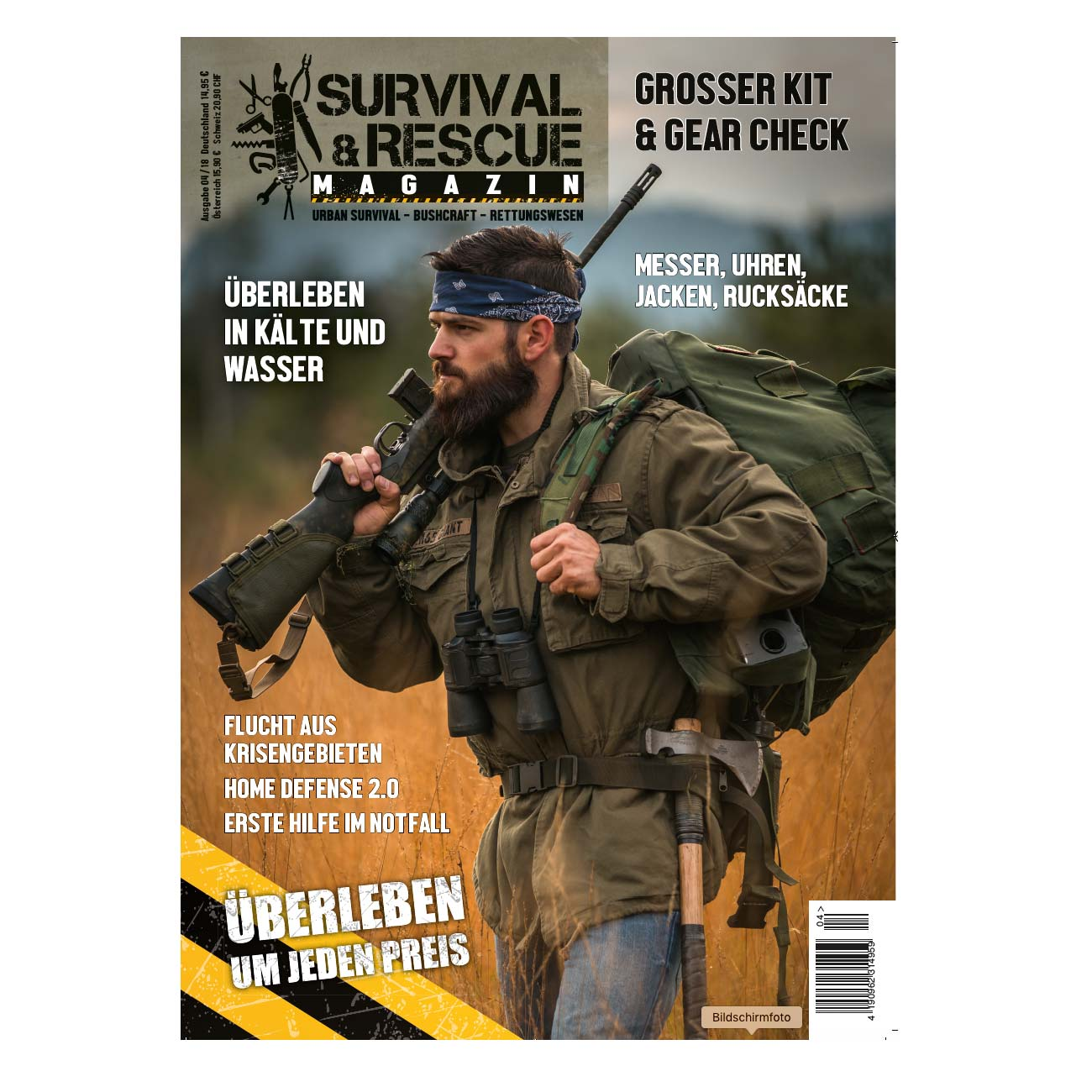 Survival & Rescue Magazin Ausgabe 04/2018 0