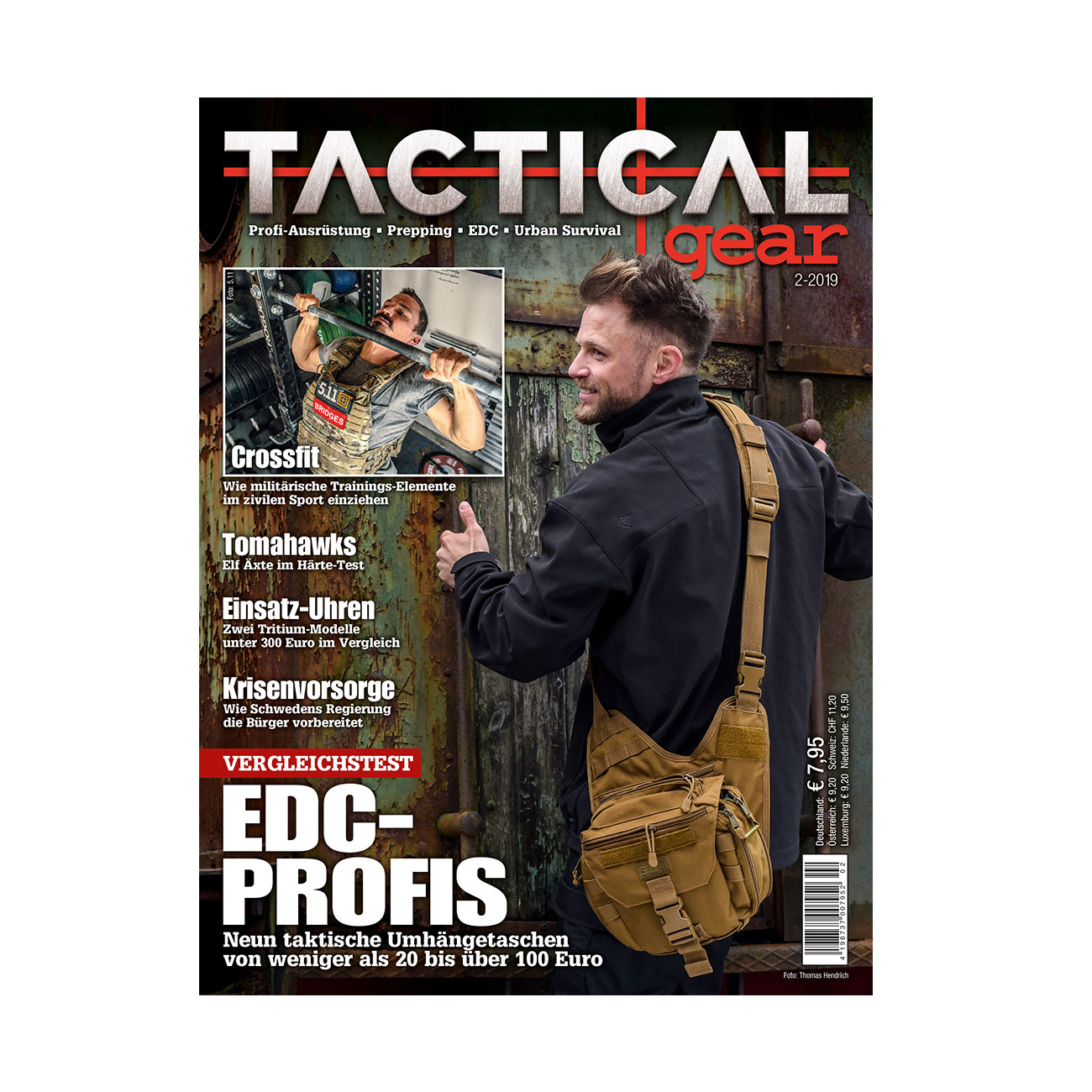 Tactical Gear Magazin Ausgabe 02/2019 0