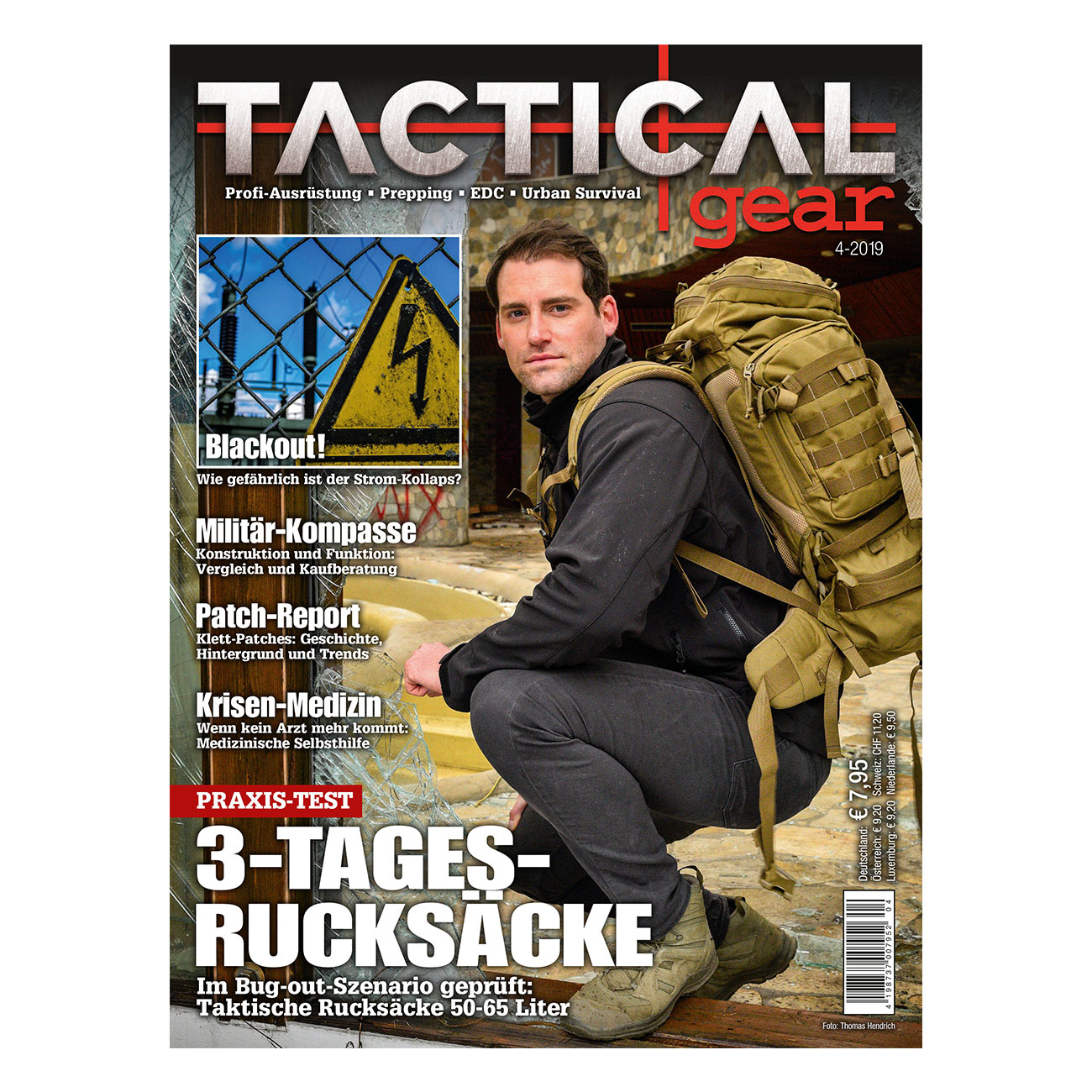 Tactical Gear Magazin Ausgabe 04/2019 0