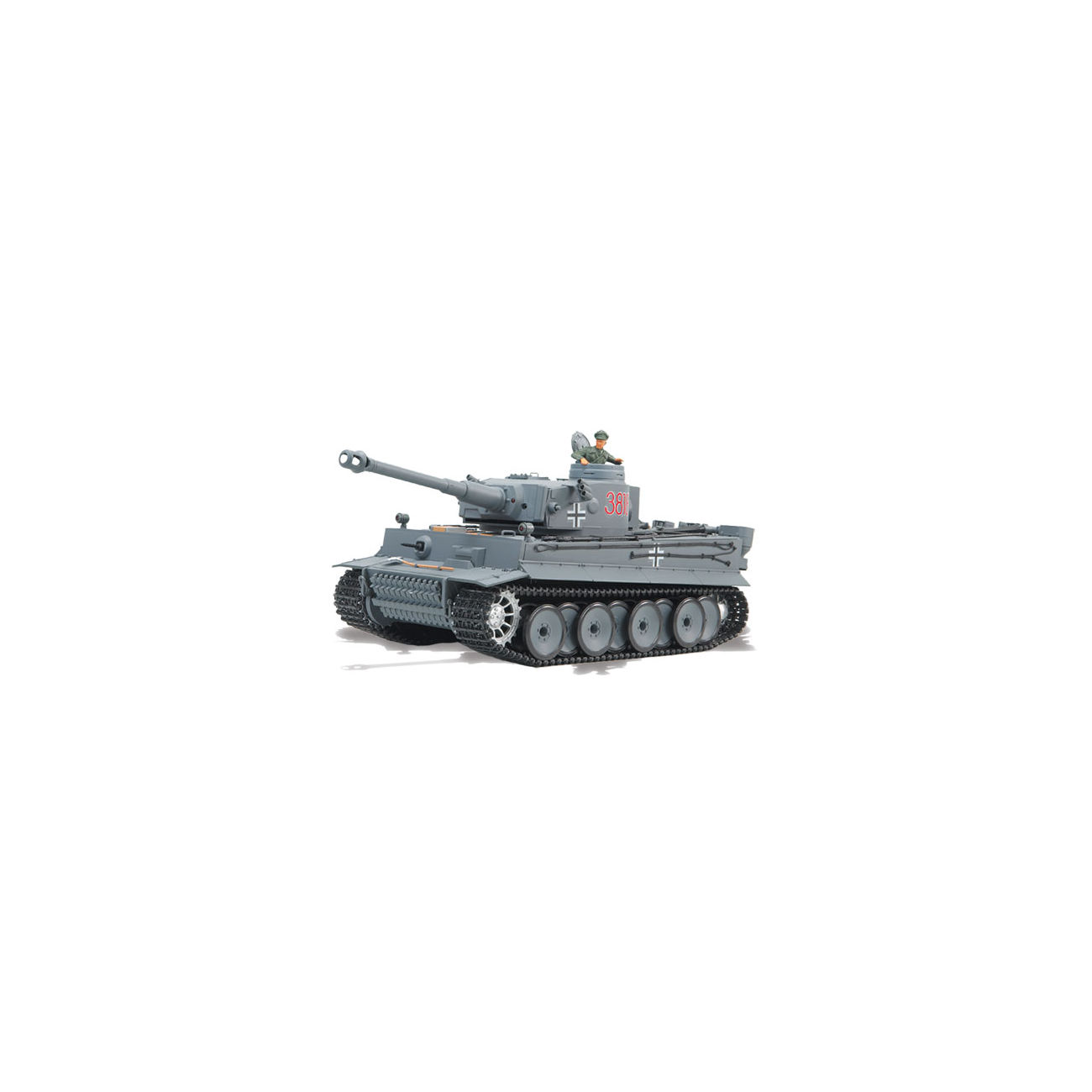 rc panzer tiger i mit rauch sound 1 16 schussf hig rtr. Black Bedroom Furniture Sets. Home Design Ideas
