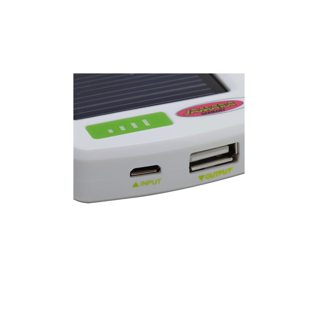 jamara universal solar charger ladeger t mit usb kabel. Black Bedroom Furniture Sets. Home Design Ideas