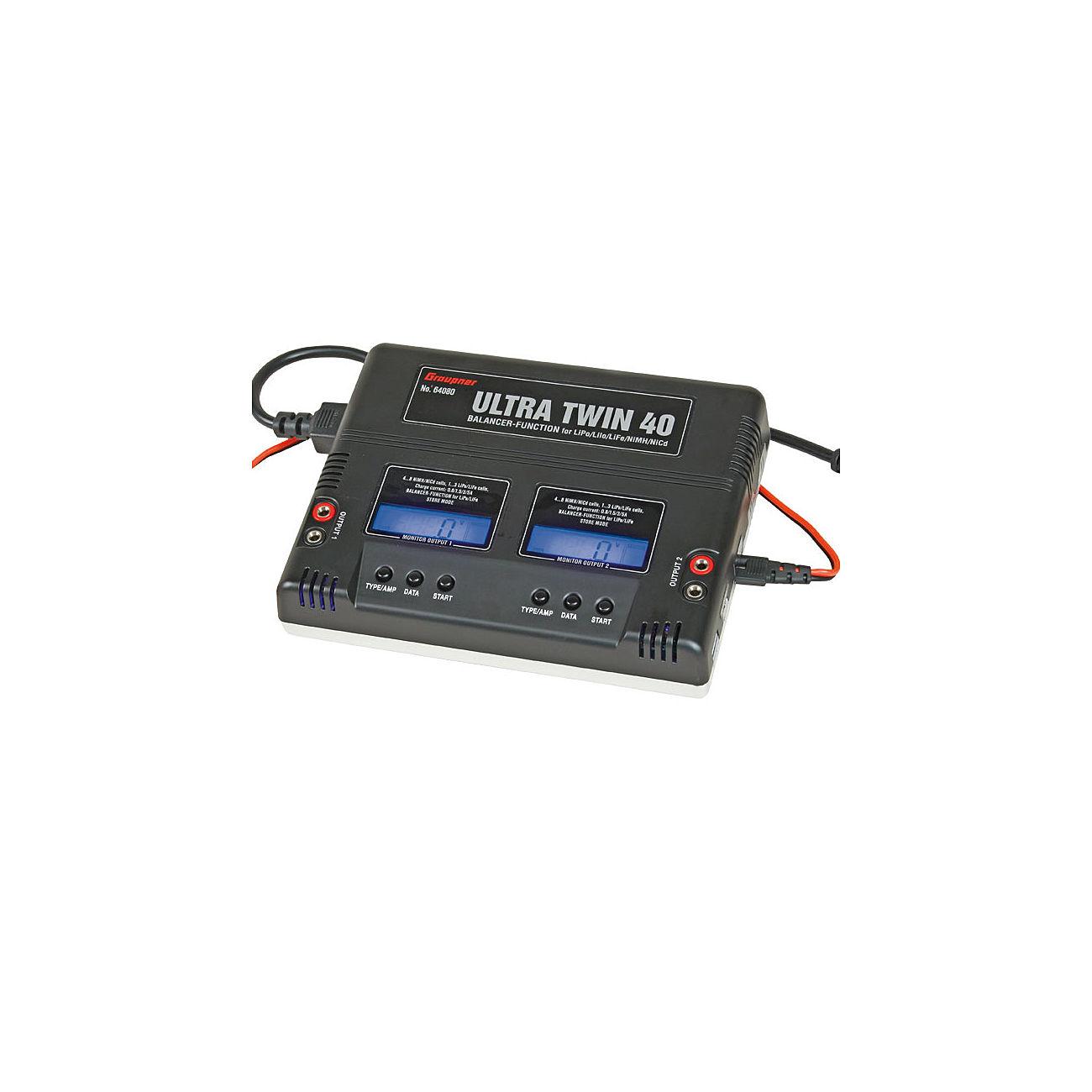 Graupner ultra twin 40 digital ladeger t lipo nimh 12v for Lipo schreibtisch