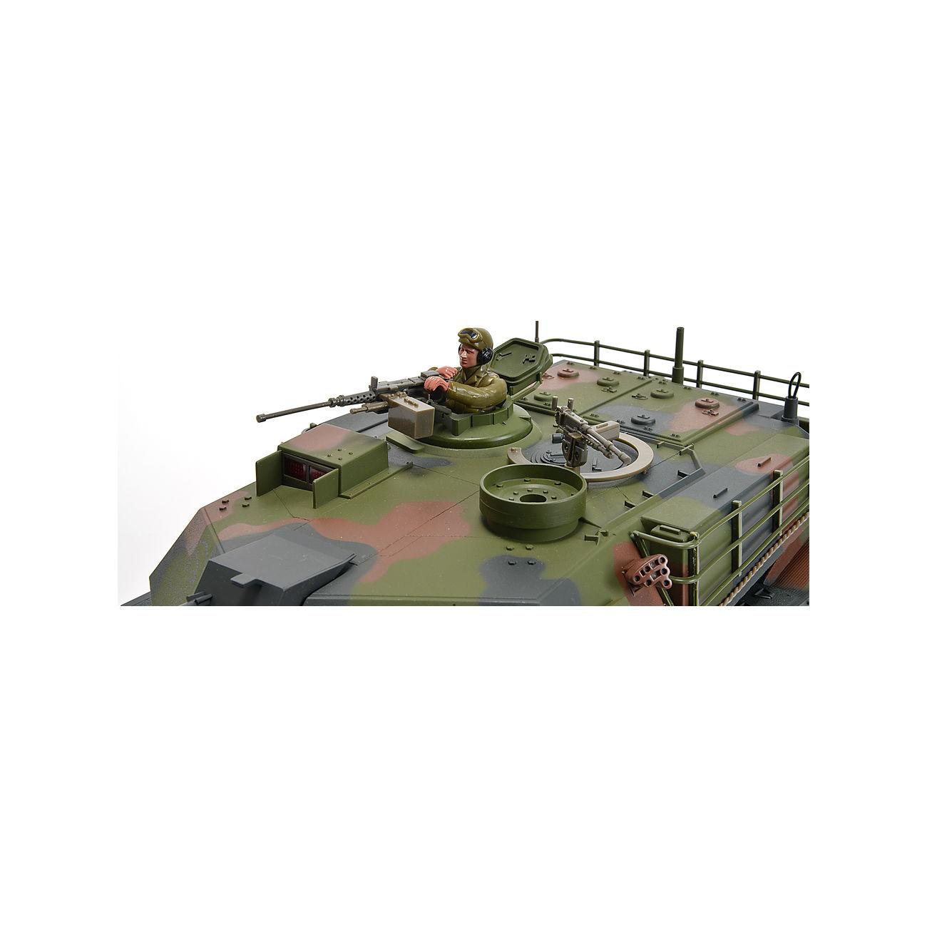 carson rc panzer m1a1 abrams mit 4 raketen gr ntarn 1 16. Black Bedroom Furniture Sets. Home Design Ideas
