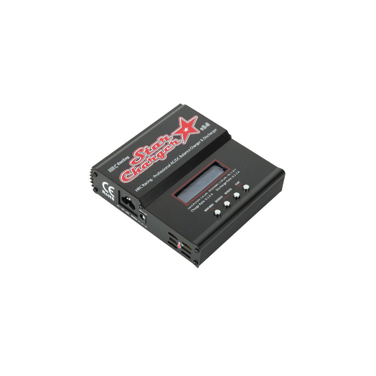 Hrc star charger v2 0 ladeger t lipo nimh pb 12v for Lipo schreibtisch