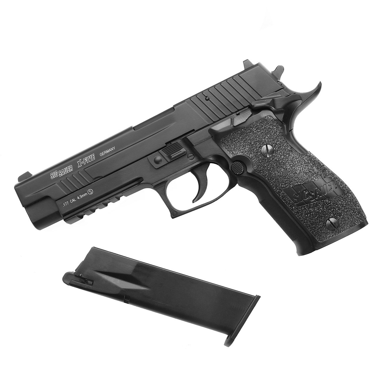 Cybergun Sig Sauer P226 X-Five Vollmetall CO2 Luftpistole 4,5mm BB 4