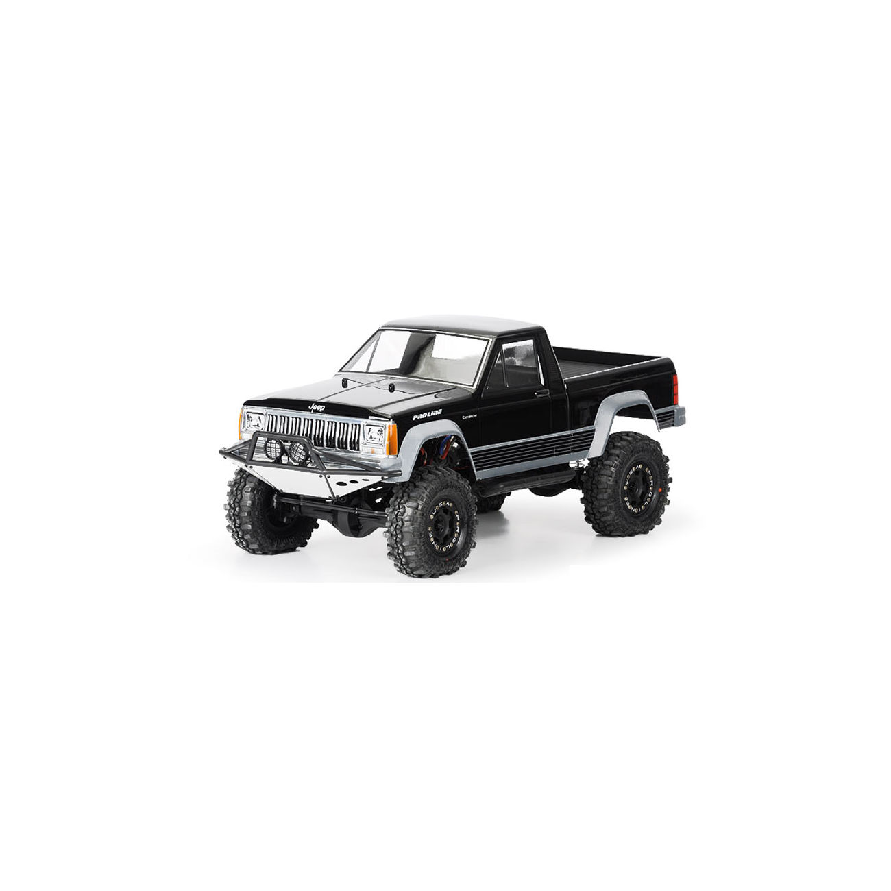 Pro Line 1 10 Lexan Karosserie Jeep Comanche Full Bed F