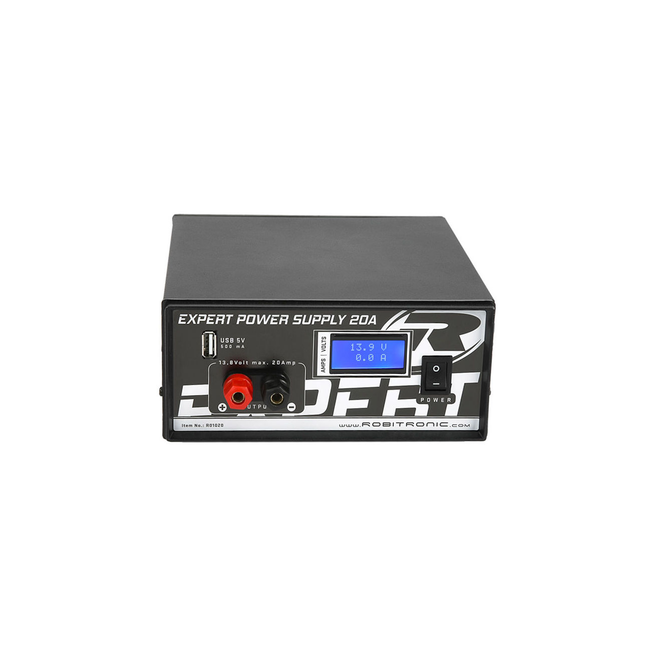 Robitronic Netzteil Expert Power Supply 13,8 Volt / 20 Ampere R01020 ...