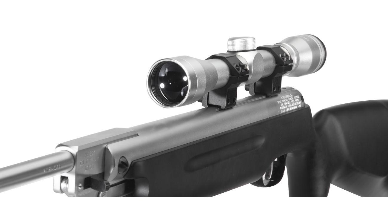 Weihrauch hw 35k black silence luftgewehr inkl. zielfernrohr